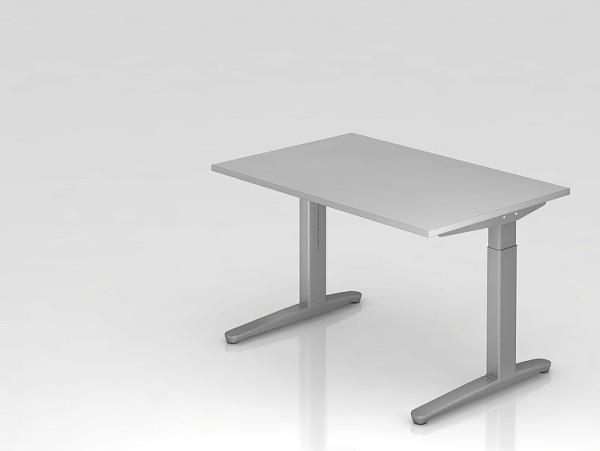 hammerbacher b ro schreibtisch stehtisch h henverstellbar 120x80 cm m 575 00. Black Bedroom Furniture Sets. Home Design Ideas