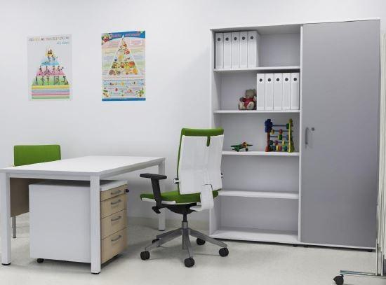 schreibtisch b rotisch e10 toro tiefe 90 cm rundrohrgestell verchromt 269 00. Black Bedroom Furniture Sets. Home Design Ideas