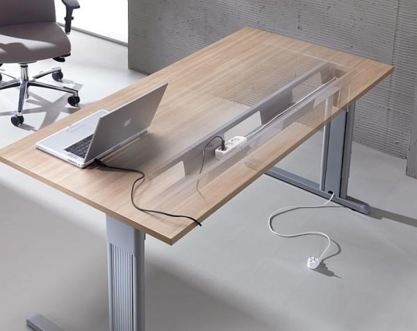 schreibtisch computertisch work graphit 95 x 76 x 55 cm 104 90. Black Bedroom Furniture Sets. Home Design Ideas