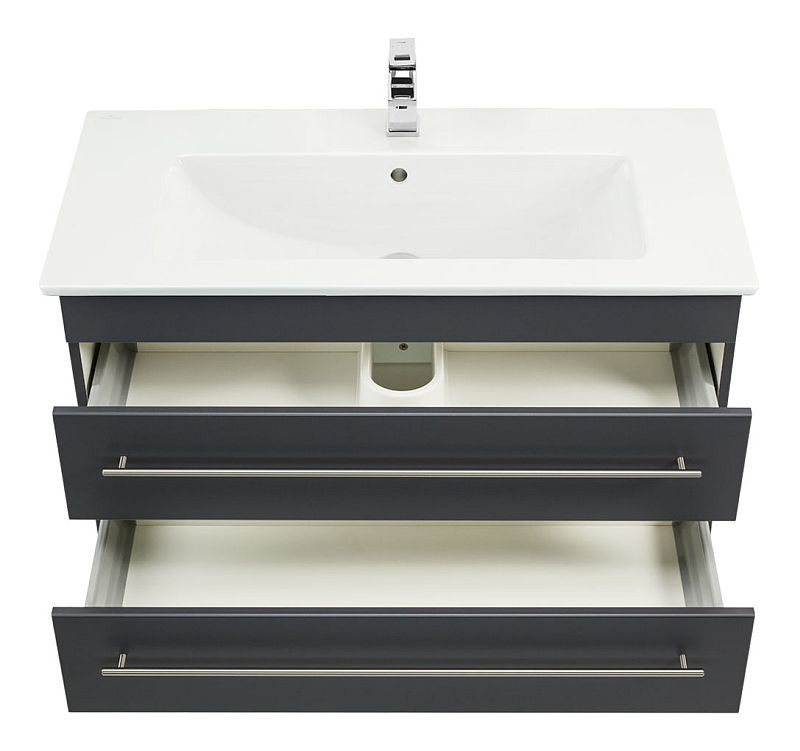 badm bel villeroy boch waschplatz waschbecken venticello 100cm mit un 898 80. Black Bedroom Furniture Sets. Home Design Ideas
