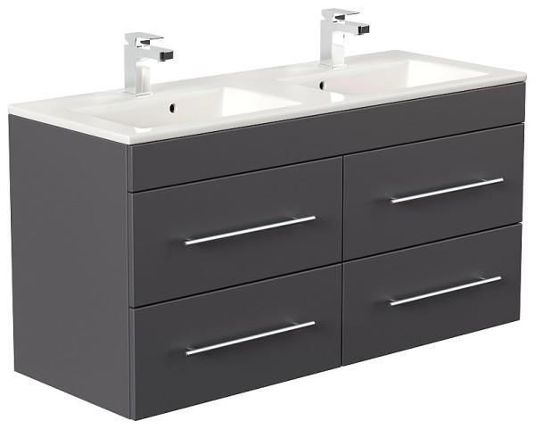 badm bel waschplatz doppel waschbecken homeline 120cm mit unterschran 489 00. Black Bedroom Furniture Sets. Home Design Ideas