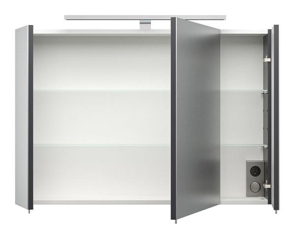 Badmöbelset Bad Rima Anthrazit-Weiß 3-teilig, 599,90 €