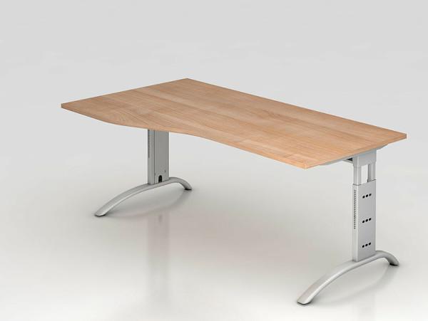 Hammerbacher b ro schreibtisch stehtisch h henverstellbar for Schreibtisch 200x100